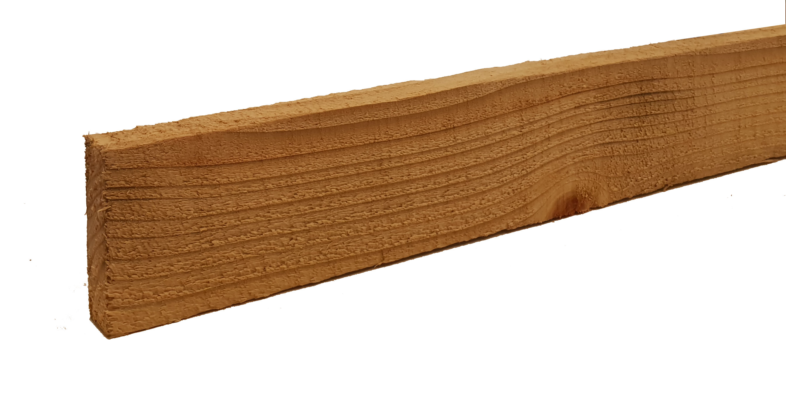 Sawn and tanalised timber