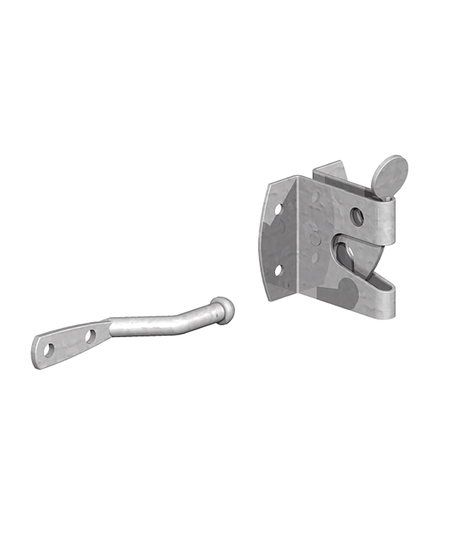 Auto gate latch galv