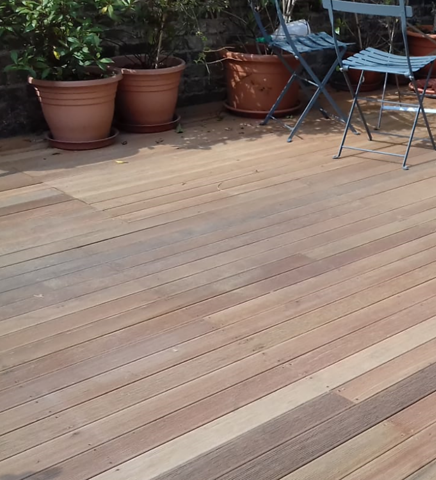 Balau hardwood decking
