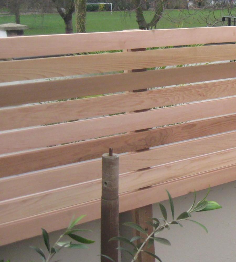 Cedar Lateral Trellis