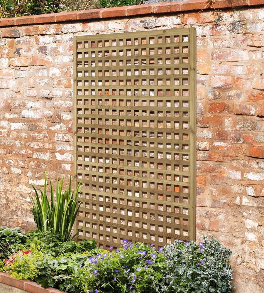 Forest square mesh trellis main