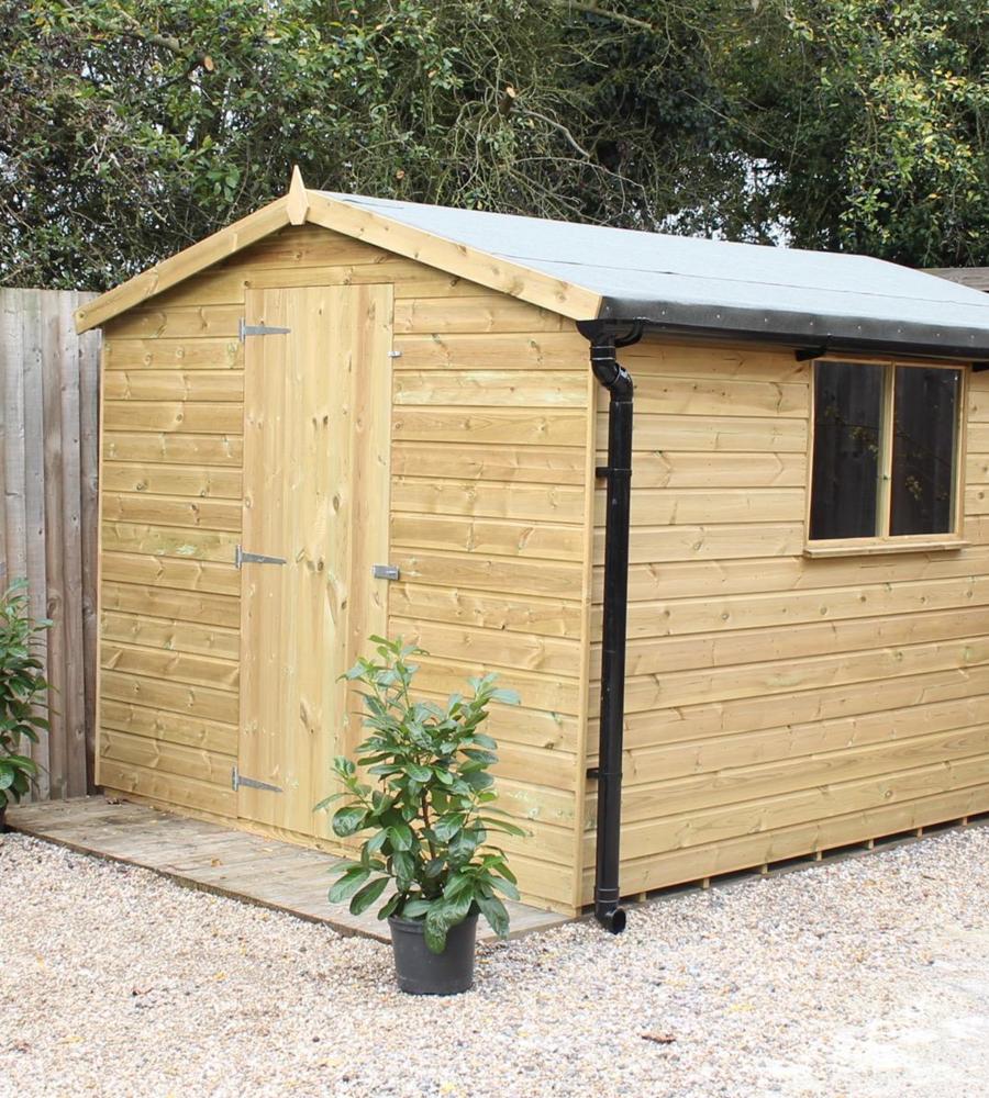 Kent apex shed