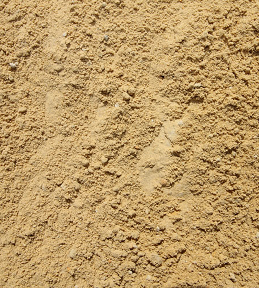 Soft building sand