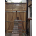 Iroko tongue and groove gate