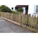 Sawn palisade pickets In Round or Pointed top