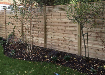 milano panels with privacy trellis