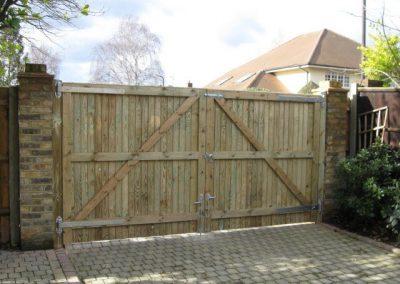 Bespoke closeboard gates