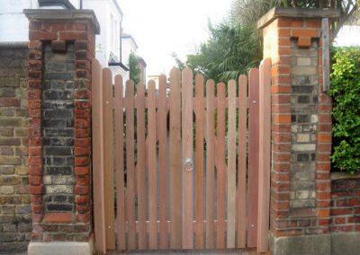 Bespoke meranti gate