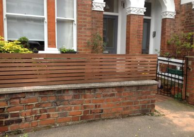 Softwood lateral trellis